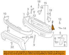 TOYOTA OEM 96-98 4Runner Front Bumper-Face Bar Mount Bracket Right 5214135050