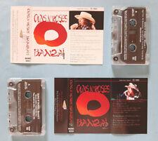 MC Musicassetta GUNS N'ROSES Banzai 1 & 2 Hard Rock Italy Rare no lp cd dvd vhs