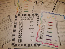 267 Printed Sight Word Worksheets.  Preschool, Kindergarten, Pre-K, Daycare read