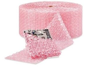 "1/2"" Large Bubble Cushioning Wrap Anti-Static Roll Padding 125' x 12"" Wide 125FT"