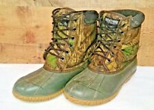 Waterproof Camo camouflage Thermolite Hunting Duck Snake  Boots Size 9