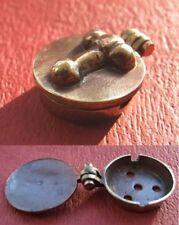Replica roman bronze seal box