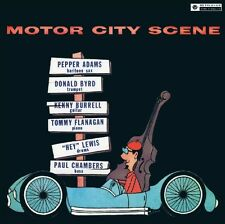 PEPPER & BYRD,DONALD ADAMS - MOTOR CITY SCENE   CD NEUF