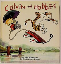 """CALVIN AND HOBBES"" (a Collection, Softcover, B&W, 1992) by BILL WATTERSON"