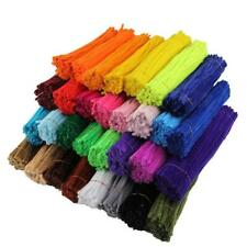 GORGEOUS & COLORFUL 50pc Chenille Stem Pipe Cleaners
