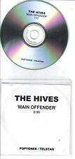 The Hives - Main Offender - Rare promo acetate CD