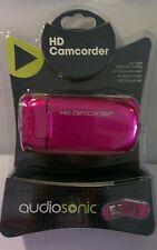 Audiosonic (ASOVA003I) Pink 5MP 2.4'' Screen 4x Digital Zoom HD 720P Camcorder