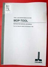 Okuma Mop-Tool Instruction Manual Me51-010-R3 Pub No 3369-E-R1 (Inv. 12197)