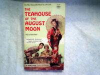 1963 THE TEAHOUSE OF AUGUST MOON Marlon Brando Glenn Ford Machiko Kyo paperback
