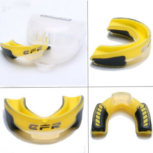 CFR Adults Boxing Mouth Guard  MMA Sports Teeth Protector Mouthpiece With Case