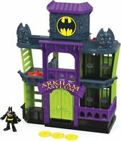 Fisher-Price Imaginext DC Super Friends, Arkham Asylum FDX24 Super Hero Kids NEW