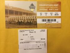 Ky Derby $2 Win Ticket&Belmont Admissions ticket Justify AND American Pharoah