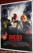 DREDD 3D ORIGINAL MOVIE INDIA POSTER 27X38