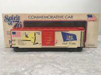 K-line Spirit of '76 New York State Boxcar