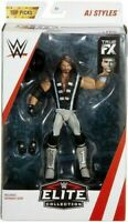 Elite Action Figures WWE AJ Styles - Top Picks - Mattel - Wrestling - New Boxed
