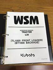 heavy equipment manuals books for kubota ebay rh ebay com kubota l39 service manual pdf kubota l39 operators manual
