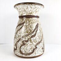 Mid Century Modern Studio Ceramic Pottery Sculpture Vase Vessel 1974 Signed