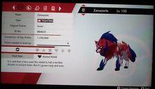 6IV Zamazenta w/ Rusted Shield LVL 100 Pokemon Sword & Shield (Read Description)