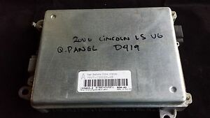 2000 LINCOLN LS V6 REAR QUARTER MULTIFUNCTION BCM # YW4T-13B520-AB GENUINE OEM