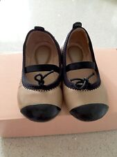As New Condition Bloch Baby Girl Toddler Leather Shoes Size 5