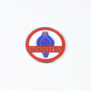 Small Cobra Enamel Disc Badge
