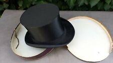 Ancien chapeau CLIC-CLAC Haut de forme dans sa boîte AU TOURING CLUB