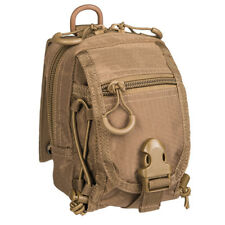 Mil-Tec HexTac Military Tactical Modular MOLLE EDC Utility Admin Pouch Coyote