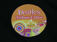 ROYAL CARIBBEAN OASIS OF SEAS CRUISE LINE SHIP BEATLES TRIBUTE T-SHIRT M BLACK