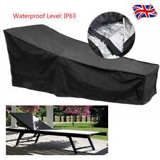 Garden Rattan Bed Sunbed Sun Lounger Rain Waterproof Furniture Cover Heavy Duty
