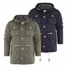 Brave Soul Button Cotton Hip Length Coats & Jackets for Men