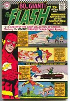 Flash 160 1st Series DC 1966 FN VF 107 113 114 124 Adventure 123 80 Page Giant