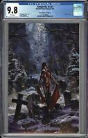 Vampirella #1 CGC 9.8 VIRGIN Variant GALLAGHER Cover