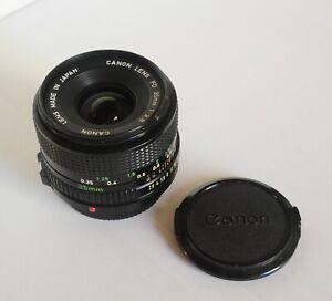 Objectif CANON FD 35mm 1:2.8