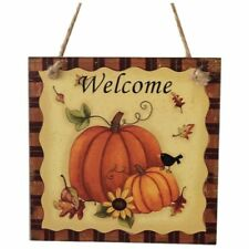 Wooden Hanging Plaque Sign Thanksgiving Door Hanger Wall Decorations Party M1I1