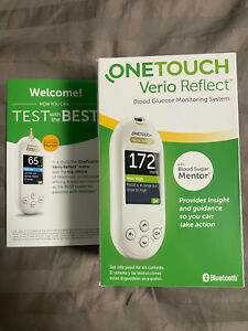 One Touch Verio Reflect Meter - Blood Glucose Monitoring System Kit (Brand New)