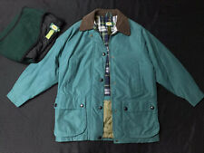 Womens Cabelas Winter Jacket + Detachable Liner Barn Jacket Turquoise Small