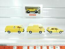 BH81-0,5# 4x Wiking H0/1:87 modèle Post Volkswagen/VW: 049 etc, W+1x