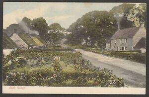 Postcard Etal Village nr Wooler Northumberland early view