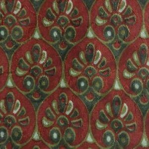 Red Foulard ZEGNA Silk Tie