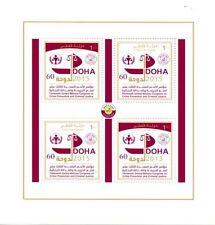 Sheet Qatari Stamps