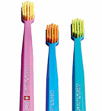 ULTRA SOFT TOOTHBRUSHES BY CURAPROX FOR SENSITIVE GUMS PACK OF 3