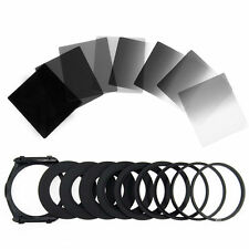 Komplettes ND 2 4 8 16 Filter Kit für Cokin P Halter +9x Adapter 52mm 58mm LF291