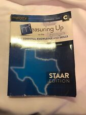 *USED* Measuring Up Texas STAAR Edition Level C Mathematics