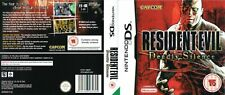 - Resident Evil Deadly DS Replacement Spare Case Cover Art Work Only