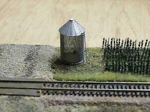 10062 Micron Art Z-scale 1:220 CORN FIELD and TWO CORN CRIBS Brass Kit