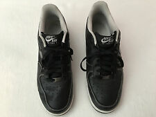 Nike Air Force 1 '07 AF1 Black and White  315122-036  MEN'S  Shoes Sz 9.5