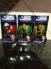 JLS Set di 4 piccola bambola ASTON-MARVIN-J B-Oritse con Vivida nel 2011