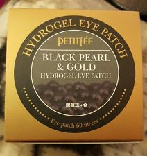 PETITFEE Hydrogel Eye Patch~BLACK PEARL & GOLD~Anti-Aging & Wrinkles WORLD SHIP