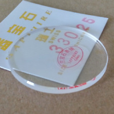 High Quality 2.5mm Thick 26-40mm Flat Sapphire Watch Glass Round Crystal