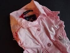 VINGINO Rosa strech Bluse ärmellos Gr.8 116/128 NEU!